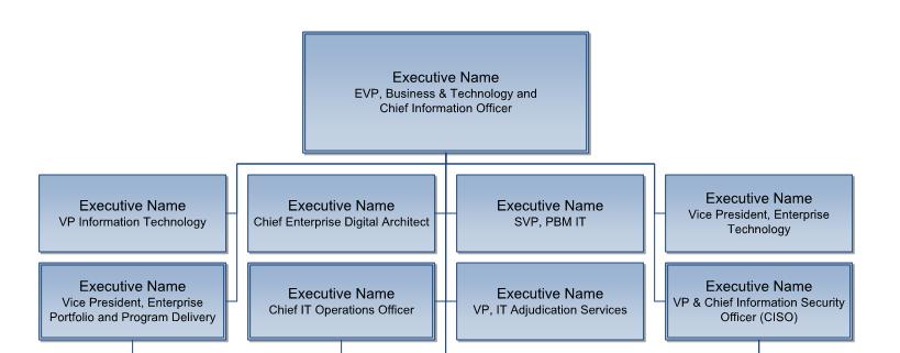 Example of Org Chart Development